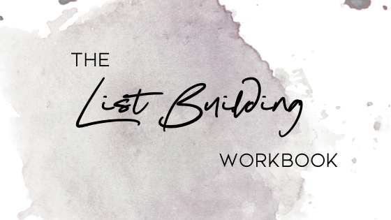 The List Building Workbook