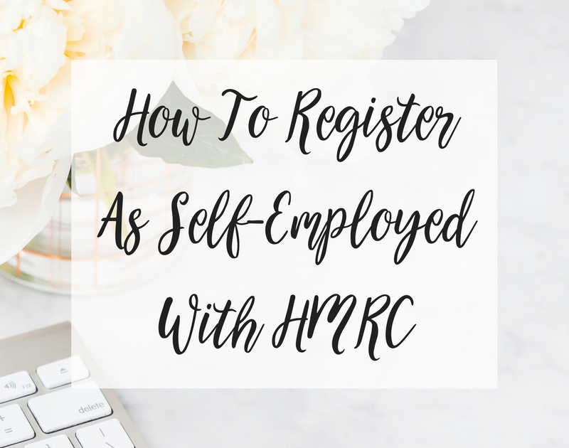 How To Register As Self-Employed With HMRC