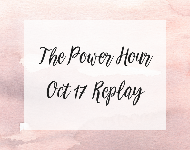 The Power Hour – October 2017 Replay