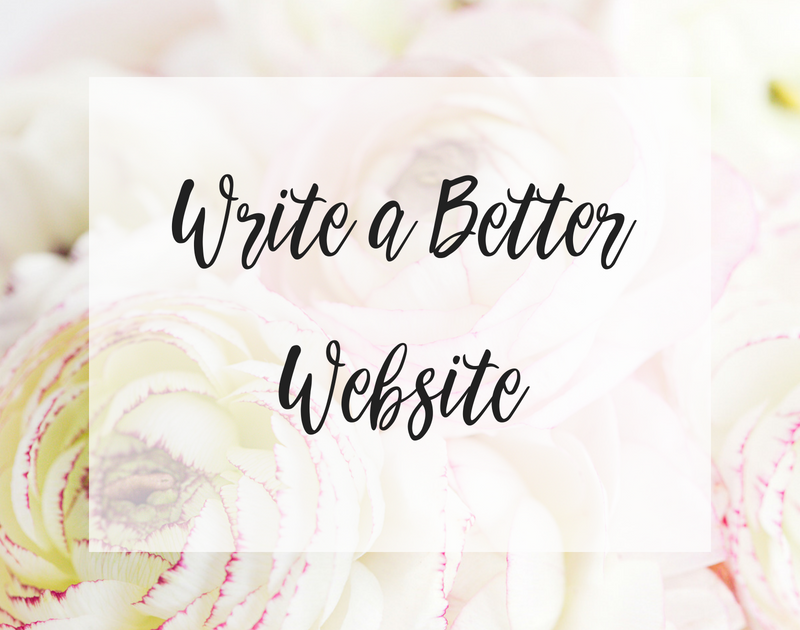 Write a Better Website in association with Copy Power