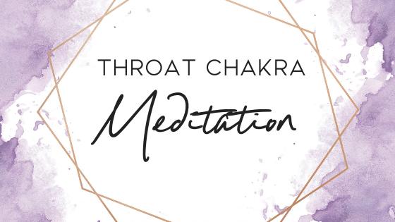 Throat Chakra Meditation for effective communication