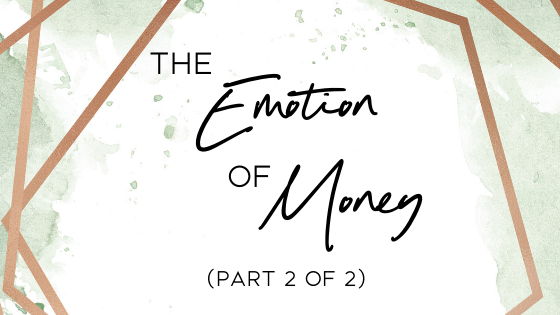 The Emotion of Money
